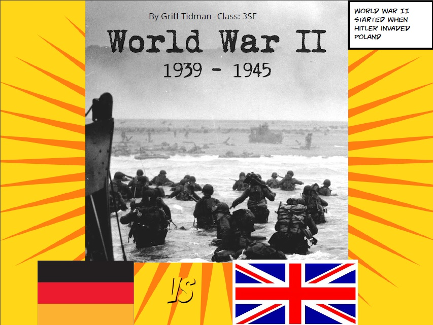 the history of world war ii essay